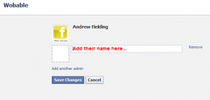 Add a new admin to the Facebook page
